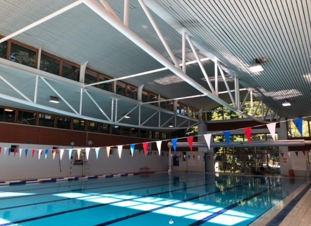 Powercor complete new pool and tennis lighting installation and donate to Teenage Cancer Trust