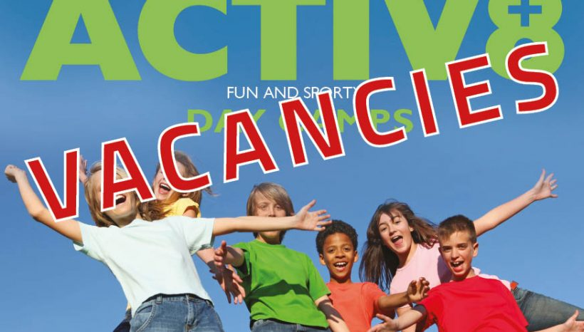 Activ8 Activity Leaders and Assistants required